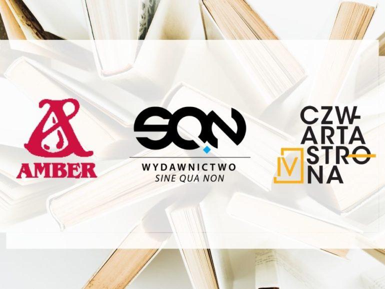 Wydawnictwa Amber, SQN i Czwarta Strona dołączają do Wielkich Liter!