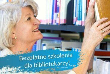 Szkolenia dla bibliotekarzy: seniorzy i osoby słabowidzące w bibliotece